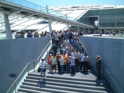 Photo of participants at 360Hub Event, 2002