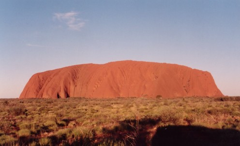 Uluru or Ayers Rock, Australia.