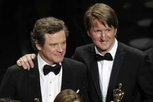 "COLIN FIRTH -2011 Oscar's Best Actor and Best Director Tom Hooper for Best Picture ""The King's Speech"""