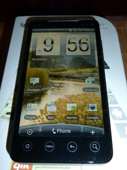 Sprint HTC EVO 4G For Sale