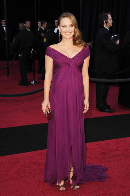 "Pregnant NATALIE PORTMAN - Best Actress for the ""BLACK SWAN"""