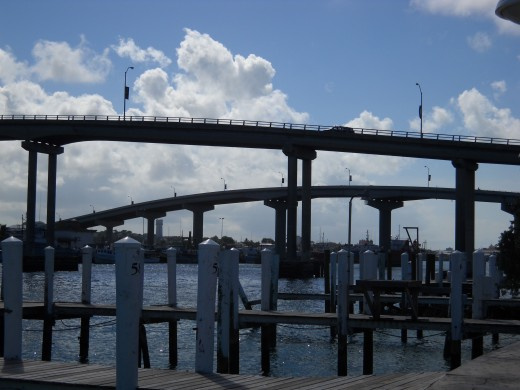 Bridges in Nassau, Bahamas