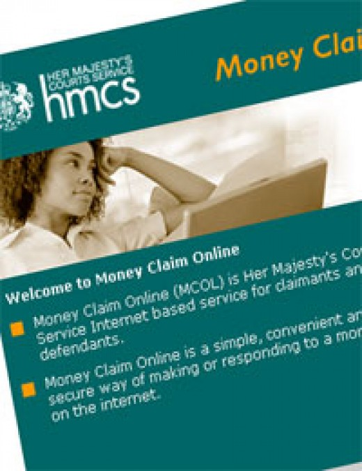 money claim online uk