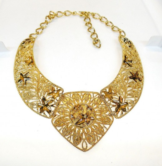 Byzantine Style Articulated Necklace