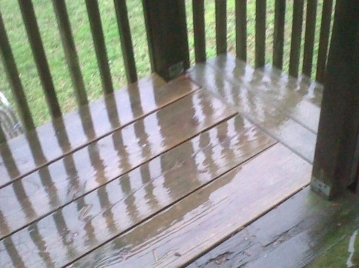 East Tennessee got some phenomenal storms today.  According to the news, we got roughly 3 inches of rain.