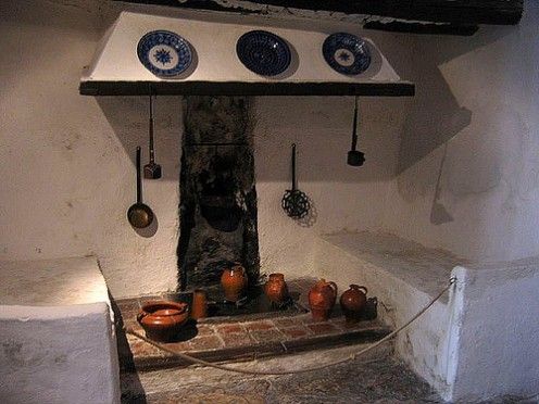 Kitchen at Goya's Childhood Home