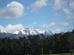 Alpine Peaks in the South Island