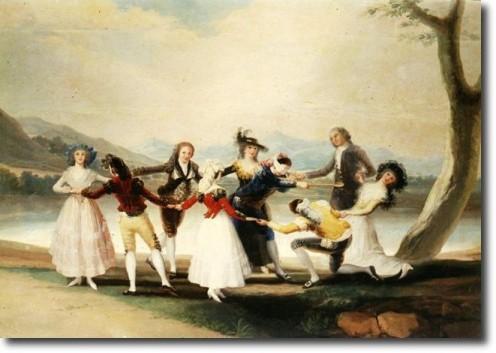 Blindman's Bluff- Goya Tapestry