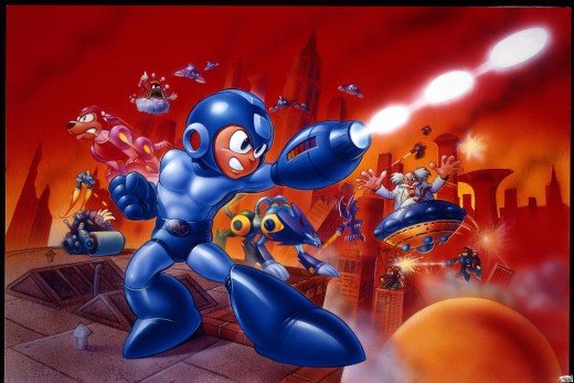 Dr. WIly creates his own mechanical planet called Wily World, and wrecks havoc on the Earth from outer space in Mega Man 11.