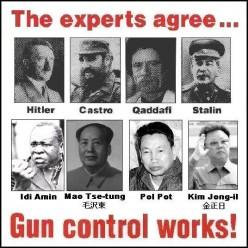 Police and Gun Control.
