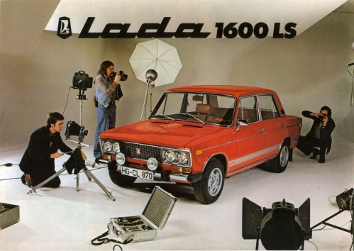 Unfortunately, the Lada sedan never received this kind of fanfare in Canada.
