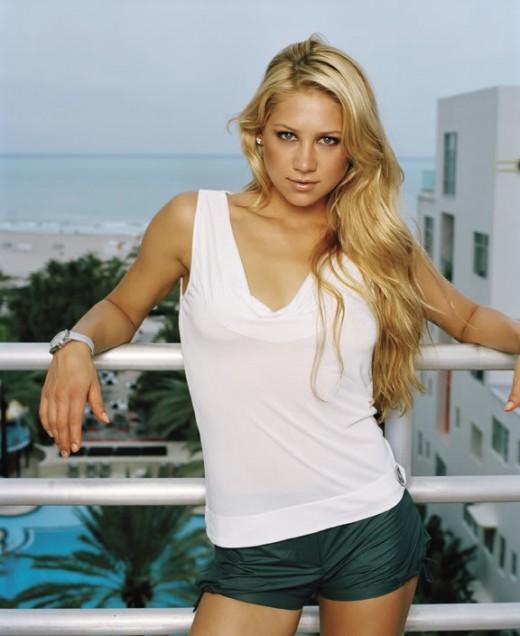 Anna Kournikova - Beautiful Women in Sports