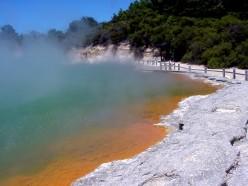 Champagne Pool, nearby Rotorua, New Zealand.