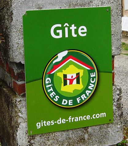 Gite de France sign of quality