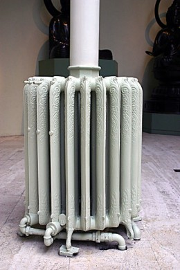 A Parse-type radiator - good for warm, good for cold, good for what ails you