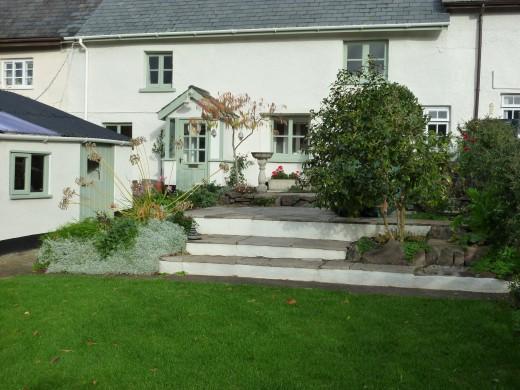 A classic cob cottage in Devon.