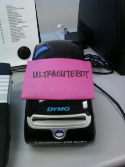 QT reviews the Dymo Labelwriter 450 Turbo label printer & Dymo Stamps
