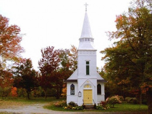 Tiny church in Sugar Hill