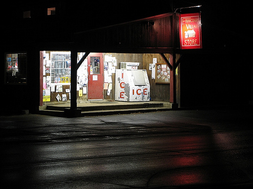 Some people have convenience stores, we have the Franconia Village Store