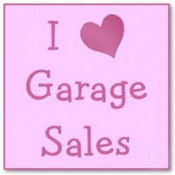 Confessions of a Garage Sale Junkie