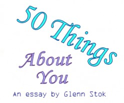 Can You Quickly Think of 50 Things About Yourself?