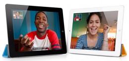 FaceTime on iPad