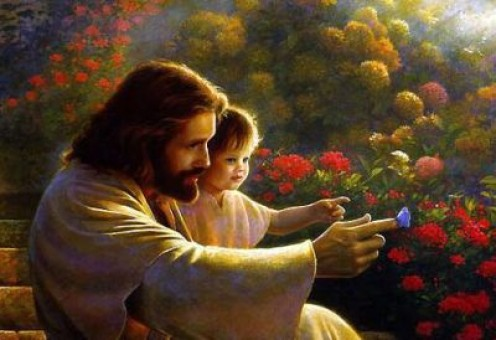 Jesus Loved the Children...Matthew 10:14 & 16