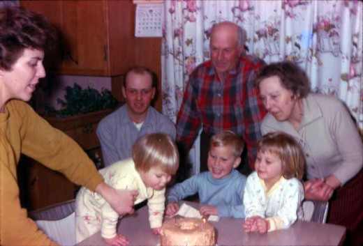 My second birthday, 1965