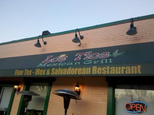 Los Tios restaurant on Mount Vernon Avenue in the Del Ray neighborhood of Alexandria.