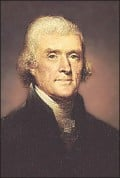 Humanism, Thomas Jefferson and The Constitution