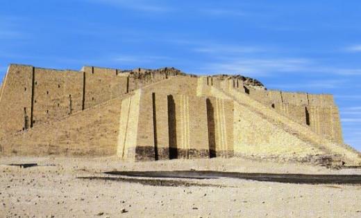 Ziggurat from ancient Sumer