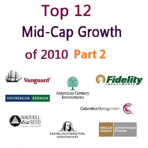 Top Mid Cap Growth Fund of 2010 Part 2 Logo