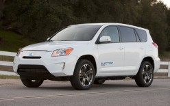 This is not the first RAV4-EV.  Toyota made about 1200 of them back in the 1990s, but like GM and the EV-1, they scotched the program.  Some 700 remain on the road today.