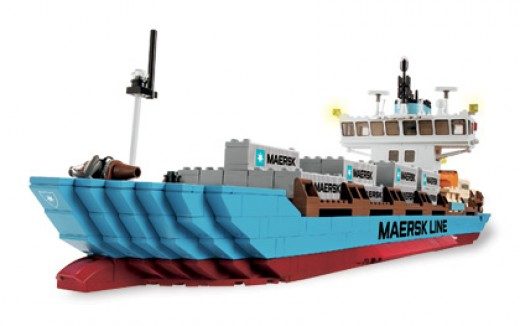 Lego Maersk Container Ship (#10155)
