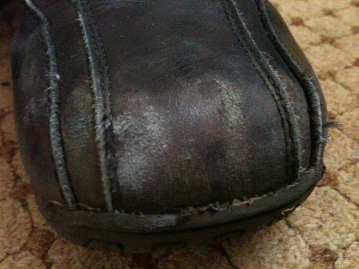 Worn for less than a week.