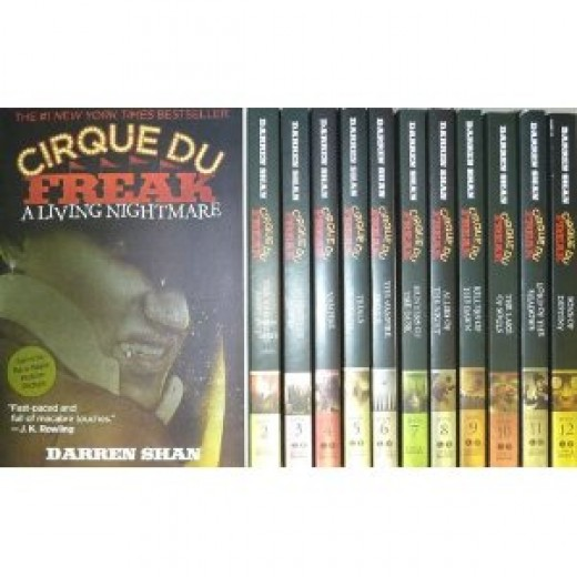Cirque Du Freak, by master of horror Darren Shan
