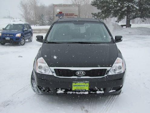 Kia Sedona My new 2011 family car.