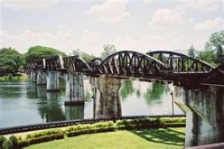 Bridge Over the River Kwai in Kanchanaburi Province Thailand-- Travel Thailand Series