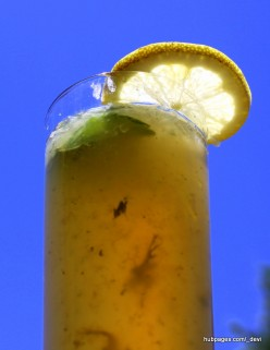 Refreshing Drink: Lemon and Mint Cooler Recipe