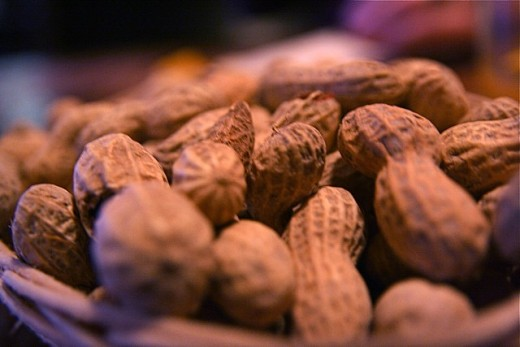 Peanuts are a common cause of food allergy.