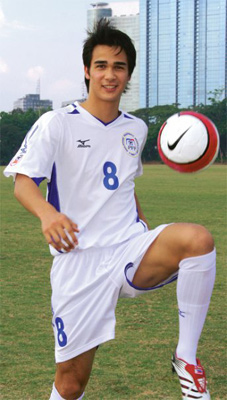 Midfielder Azkal player, James Younghusband