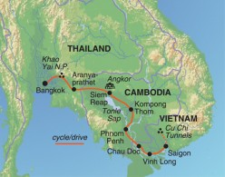 Cycling through Thailand, Cambodia and Vietnam