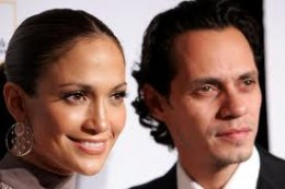 Lopez and husband Marc Anthony