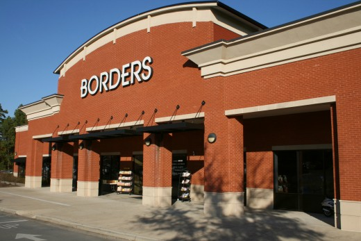 A typical Borders store in Chapel Hill, North Carolina