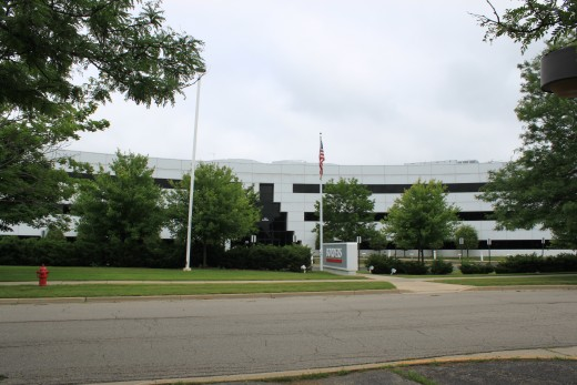 Borders Group company headquarters in Ann Arbor
