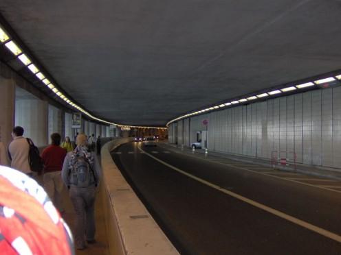 A Monaco tunnel