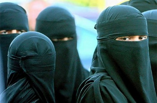 How some Islamic women spend their entire lives.