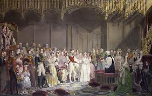 Queen Victoria wedding to Prince Albert 1840
