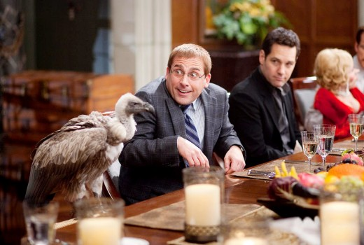 Carell and Rudd at the Dinner for Schmucks.