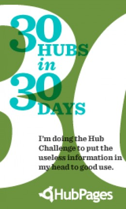 Hub #3 of the 30 Hubs in 30 Days Challenge.